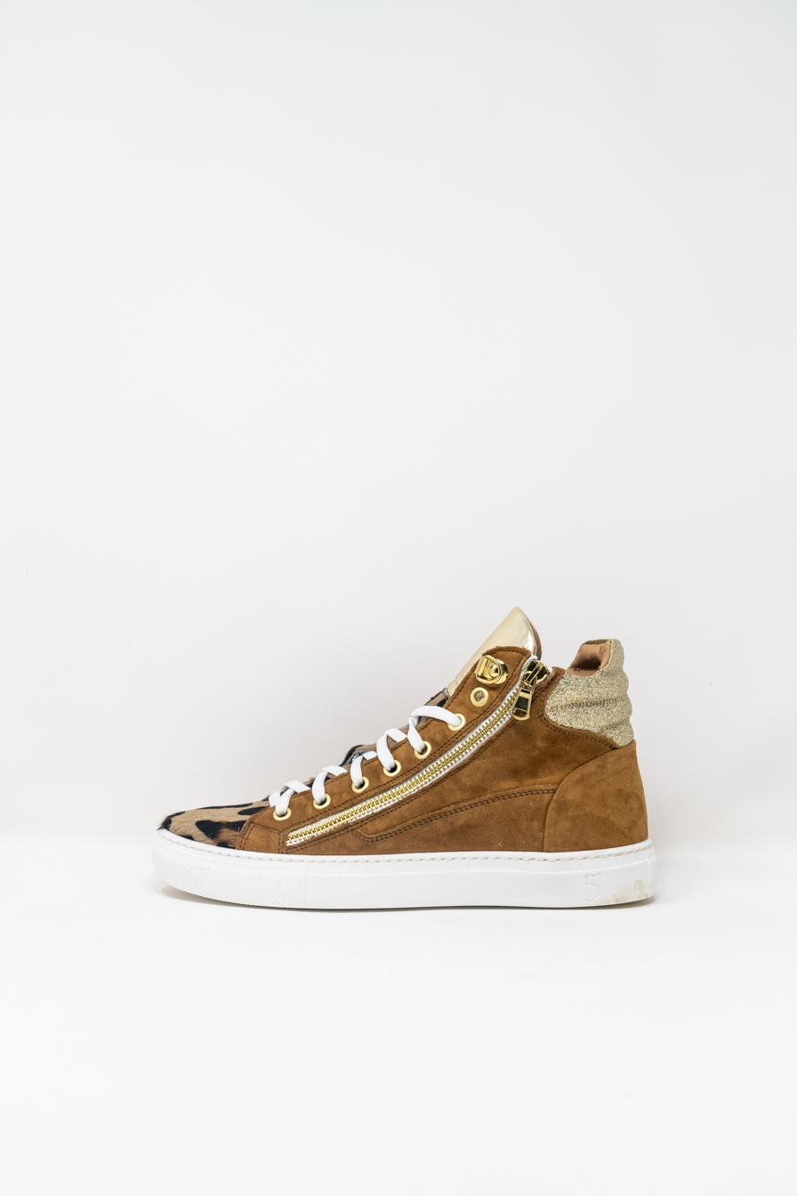Sneakers Alte woman 5  FIVE  HANDMADE WD91, Maculato Platino