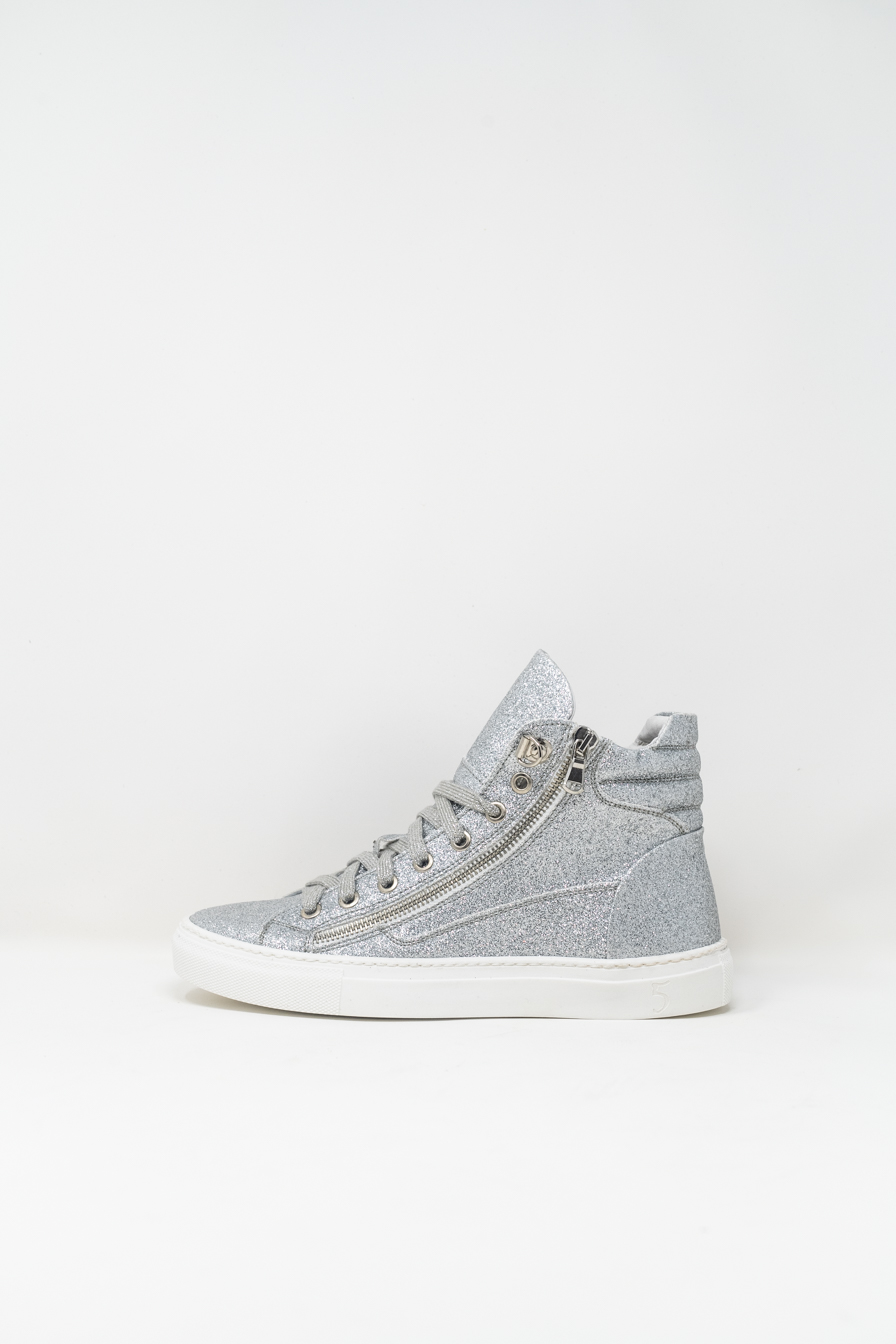 Sneakers Alte woman 5  FIVE  HANDMADE WD91, SILVER