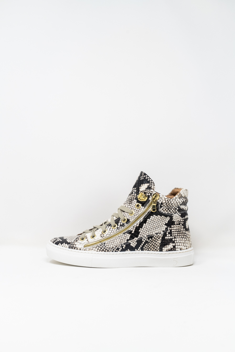 Sneakers Alte woman 5  FIVE  HANDMADE WD91, ROCK PYTHON