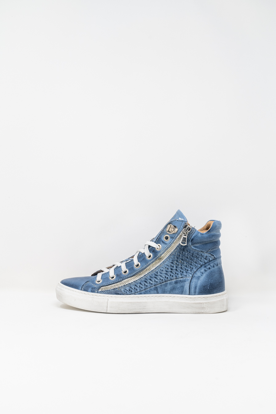 Sneakers Alte woman 5  FIVE  HANDMADE WD91, LIGHT BLUE