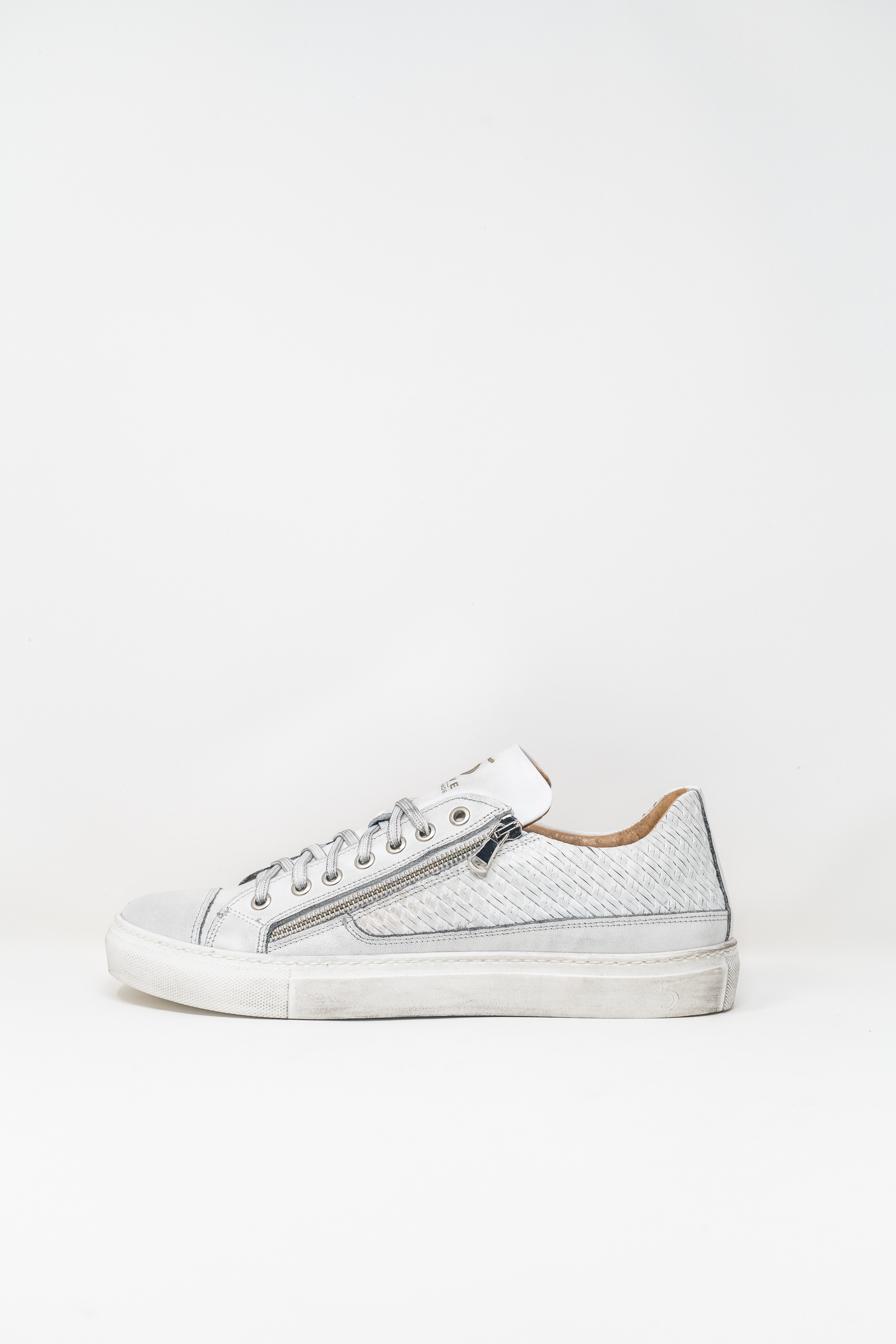 Sneakers man 5  FIVE  HANDMADE WU90, WHITE