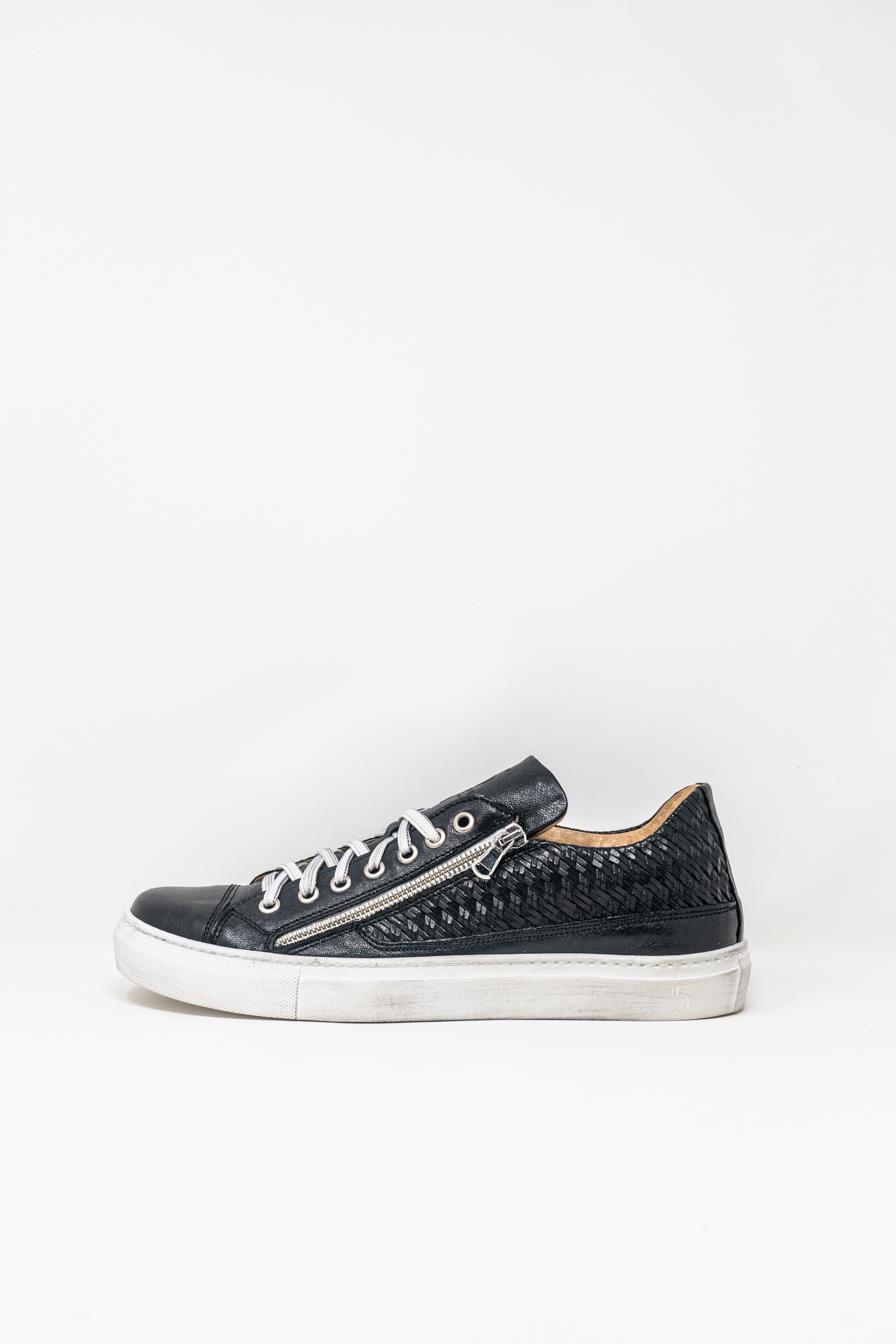 Sneakers man 5  FIVE  HANDMADE WU90, BLACK