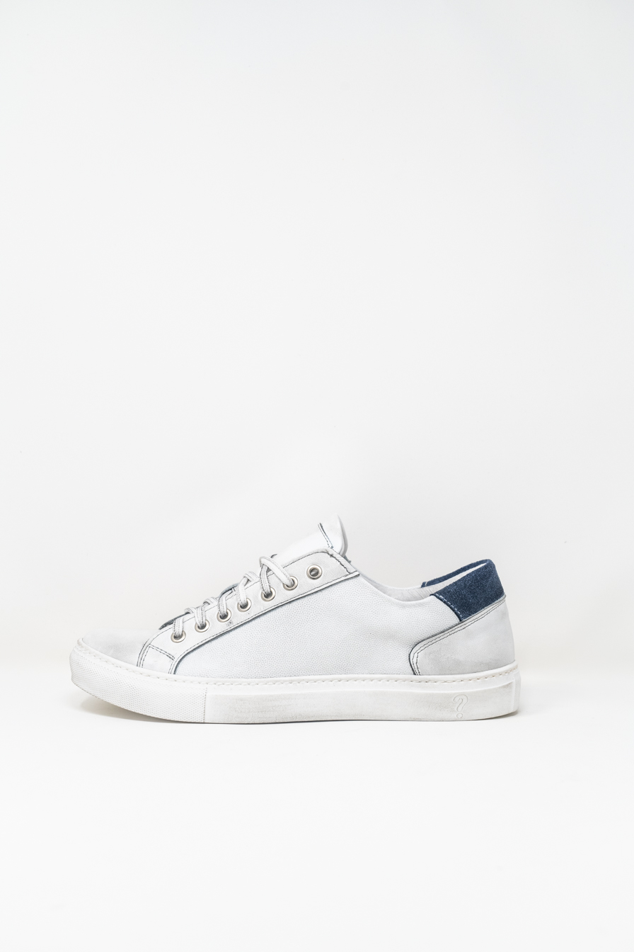 Sneakers man PRICE? GB820, BIANCO/JEANS