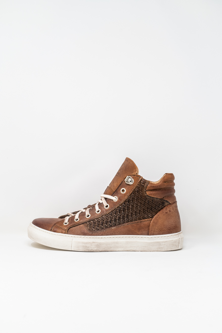 Sneakers Alte man 5  FIVE  HANDMADE WU911, LEATHER