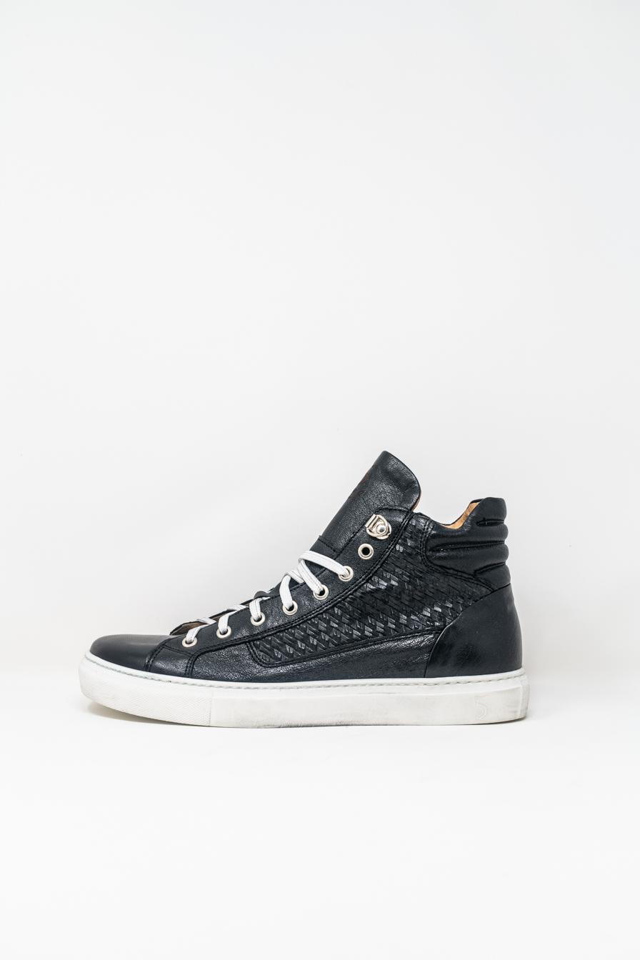 Sneakers Alte man 5  FIVE  HANDMADE WU911, BLACK