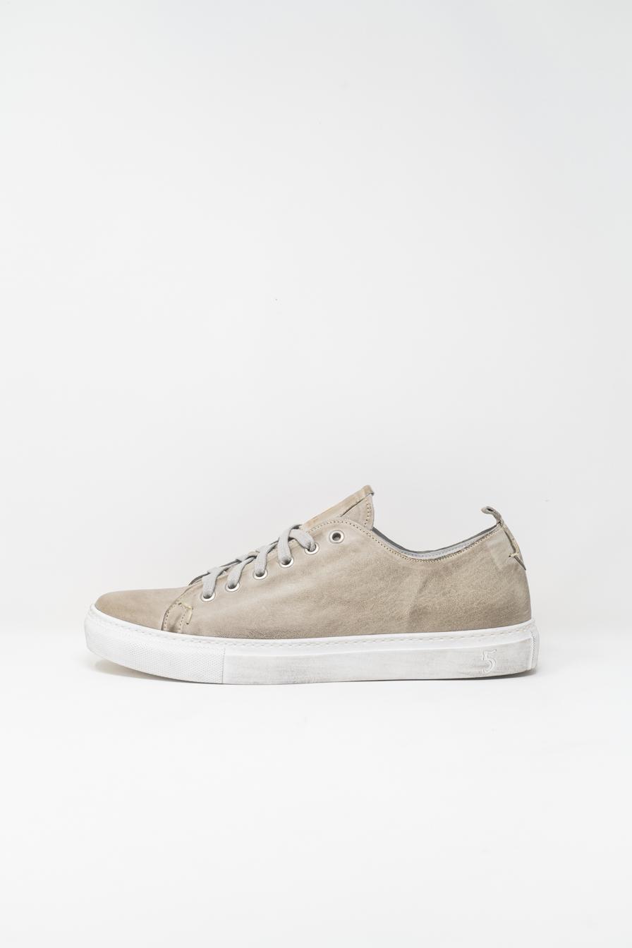 Sneakers man 5  FIVE  HANDMADE GIAX02, PEARL GREY