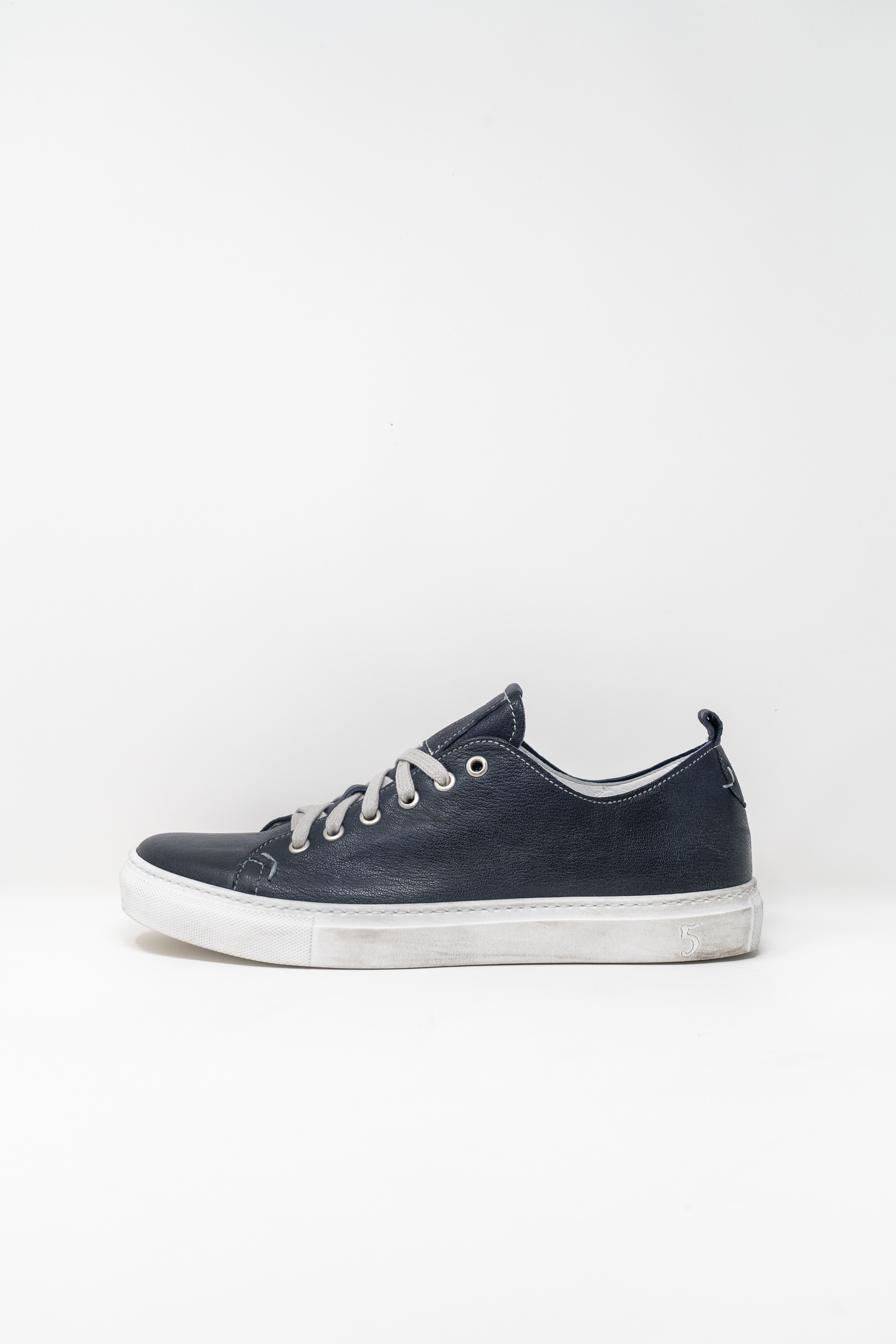 Sneakers man 5  FIVE  HANDMADE GIAX02, NAVY