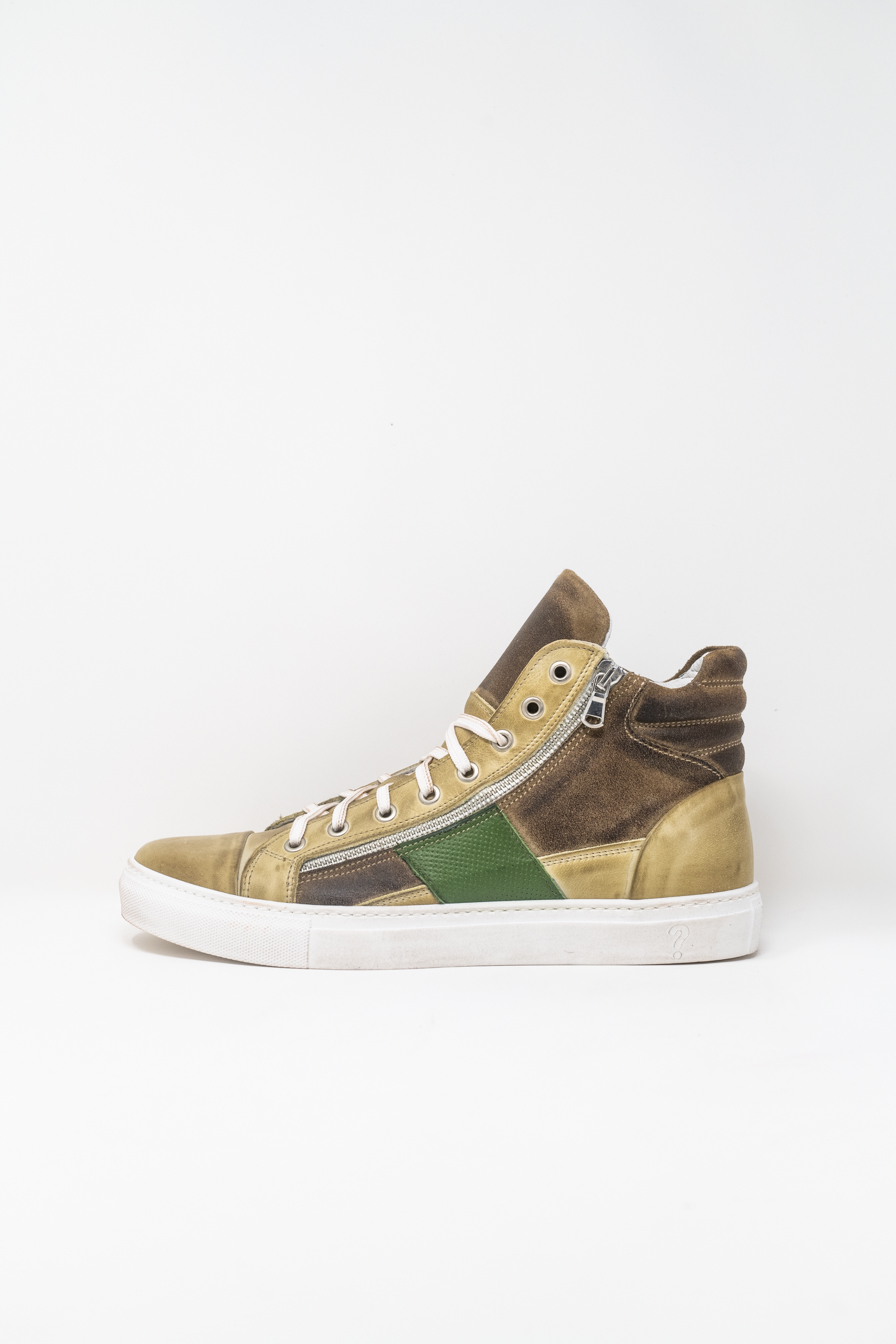 Sneakers Alte man PRICE? WX13, Dune/Verde