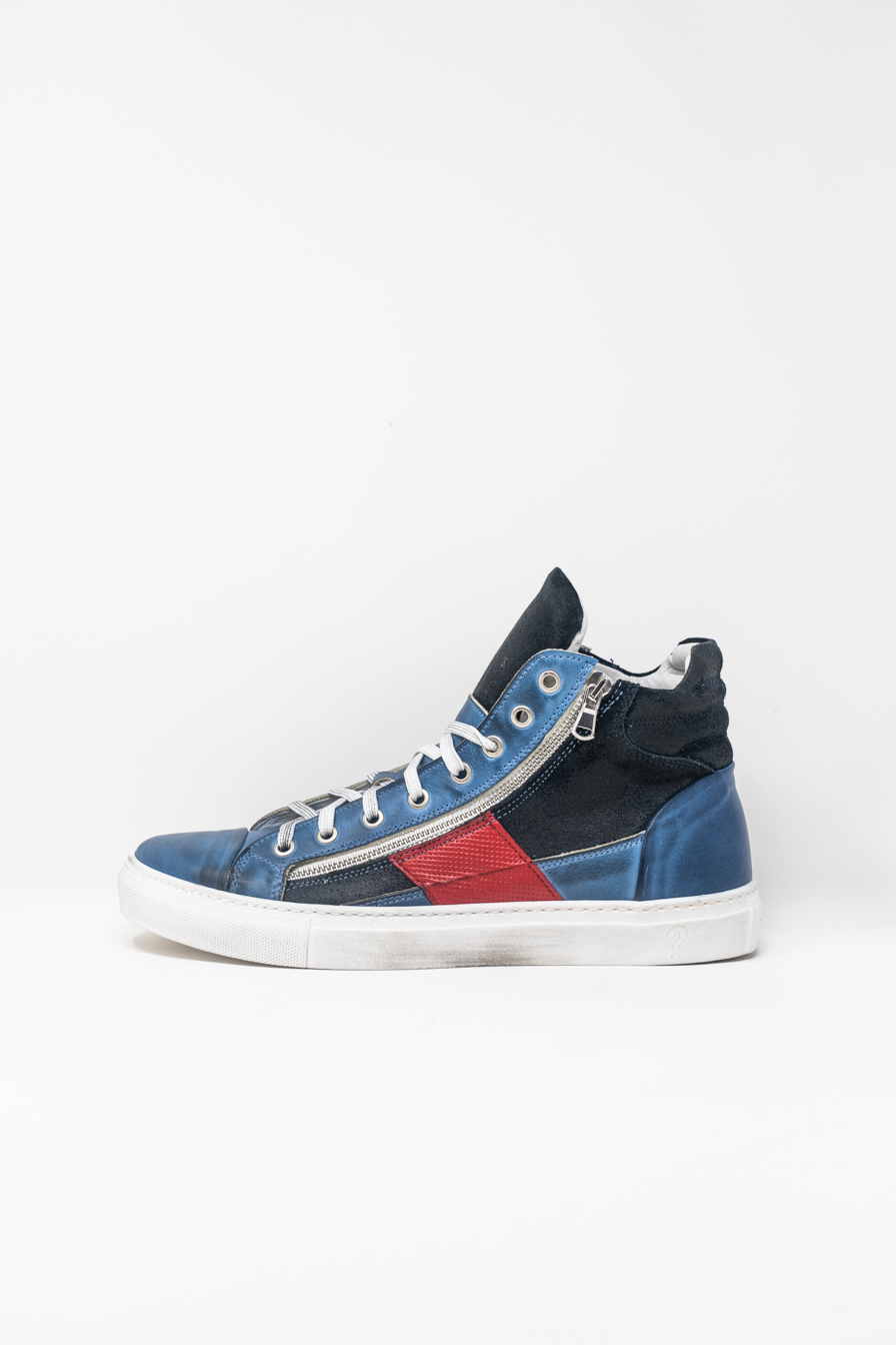 Sneakers Alte man PRICE? WX13, BLU/ROSSO
