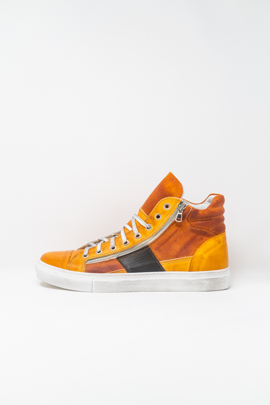 Sneakers Alte man PRICE? WX13, ARANCIO/ TDM