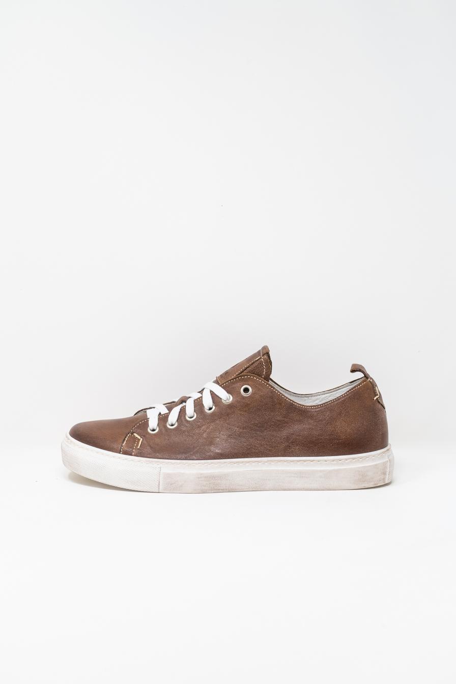 Sneakers man 5  FIVE  HANDMADE GIAX02, CIGAR COLOUR
