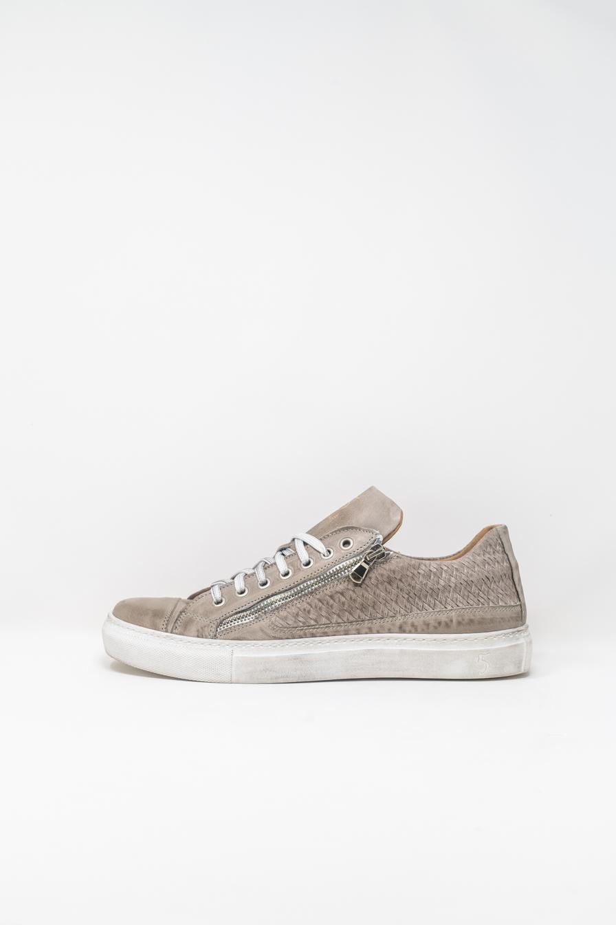 Sneakers man 5  FIVE  HANDMADE WU90, PEARL GREY