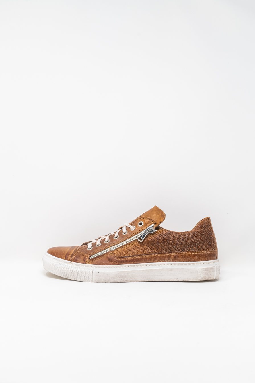 Sneakers man 5  FIVE  HANDMADE WU90, LEATHER