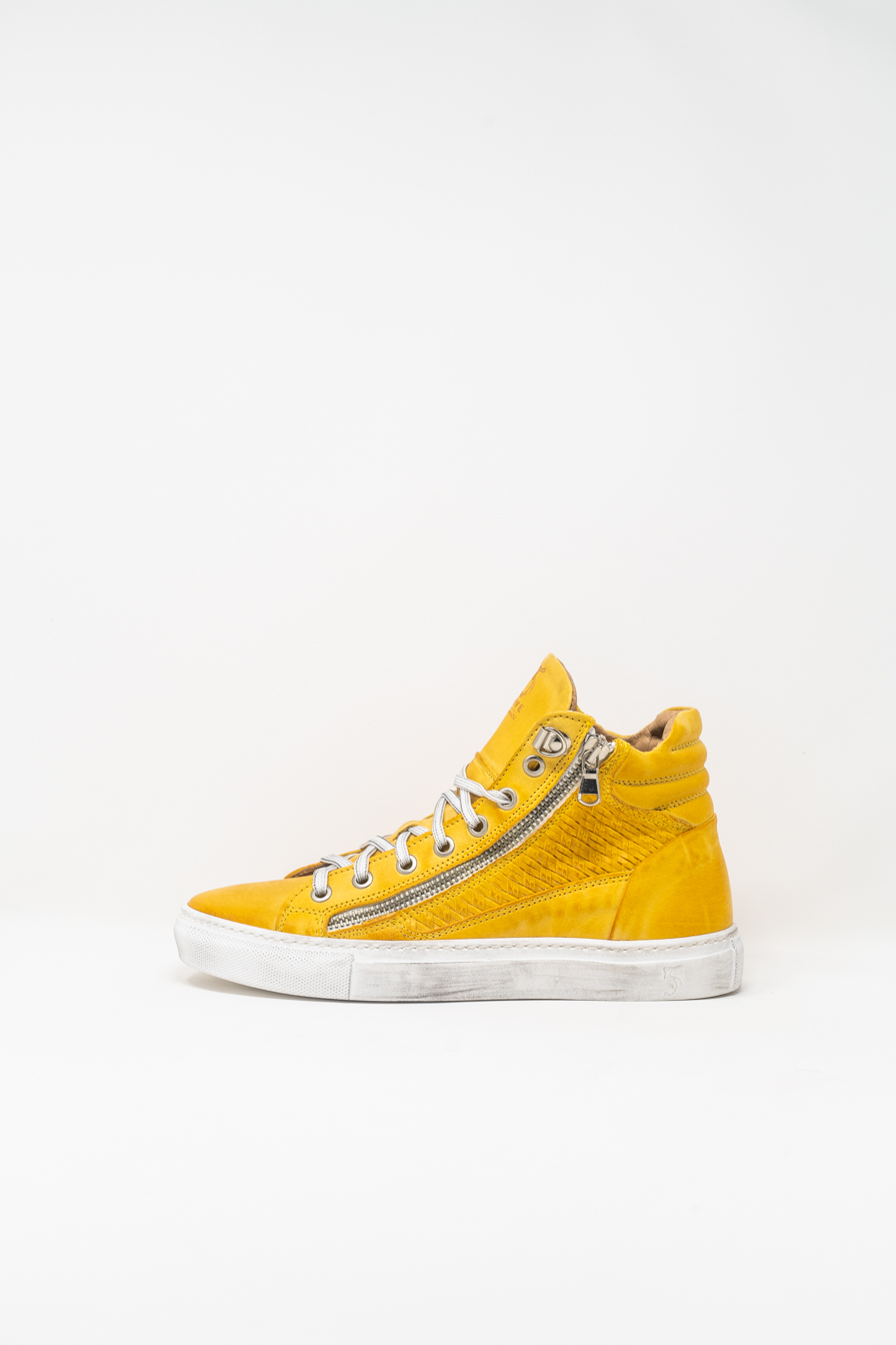 Sneakers Alte woman 5  FIVE  HANDMADE WD91, YELLOW