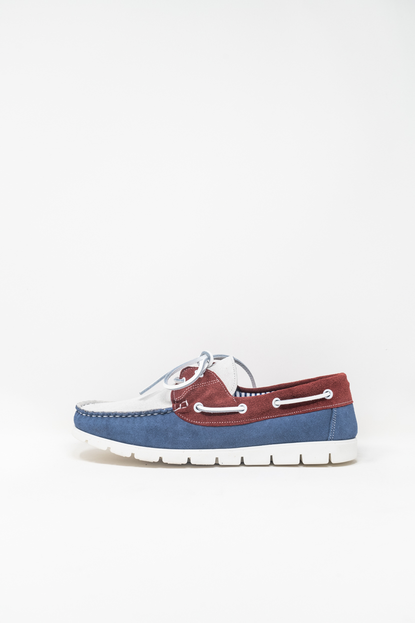 Laced Shoes man PRICE? 1900 TENDER, RED/BLUE/WHITE