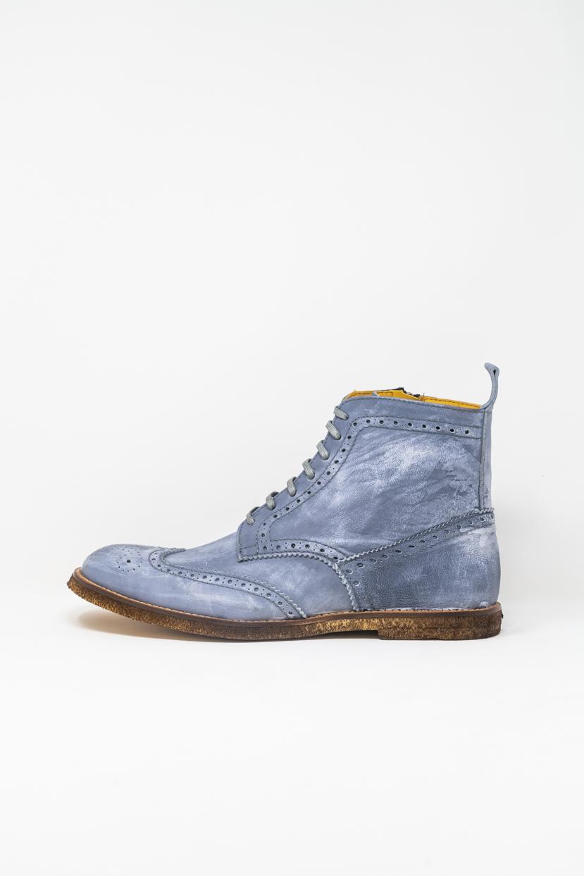 Polacco man 5  FIVE  HANDMADE Trick, Jeans washed