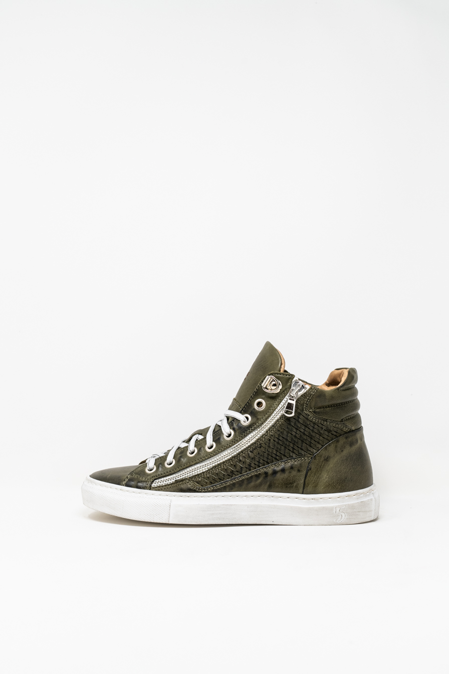 Sneakers Alte woman 5  FIVE  HANDMADE WD91, MILITARY GREEN