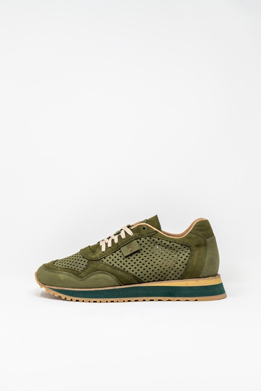 Sneakers man 5  FIVE  HANDMADE FIL, MILITARY GREEN