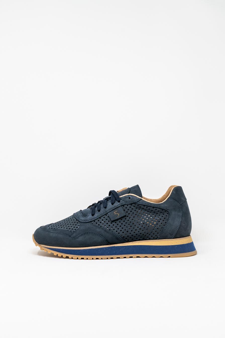 Sneakers man 5  FIVE  HANDMADE FIL, BLUE