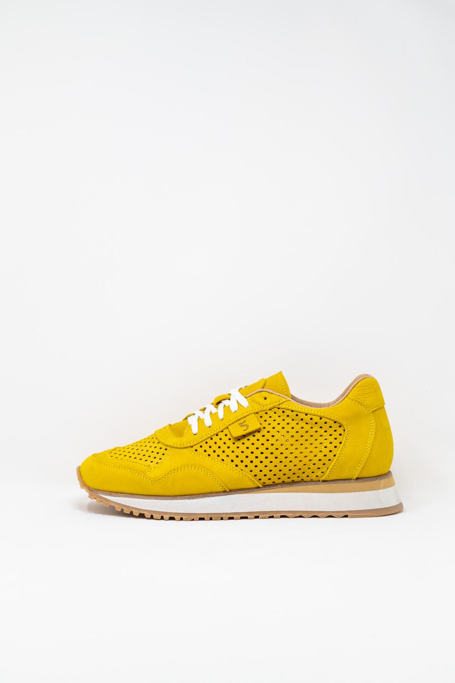 Sneakers man 5  FIVE  HANDMADE FIL, YELLOW